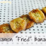 "Look! We Did it: Cinnamon ""Fried"" Bananas"