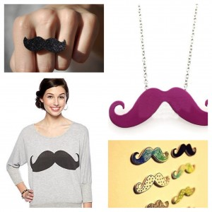 Fashion Friday: The Mustache :: becomingbeautiful.org