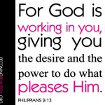 God Working in You