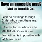The Impossible God