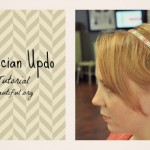 Quick Grecian Updo Hair Tutorial