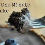 Look! We Did it: Healthy One Minute Chocolate Cake