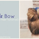 The Hair Bow Hair Tutorial