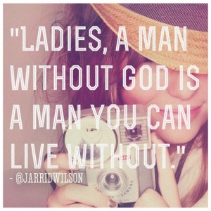 A man without God is a man you can live without