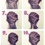DIY Quick Pinless Updo