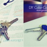 DIY Color-Coded Keys