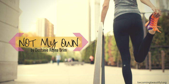 Not My Own - Destanie Reyna Brim