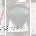 BB DIY: Map Coasters