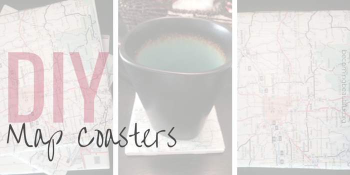 DIY MAP COASTERS (7)