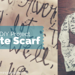 BB DIY: Quote Scarf