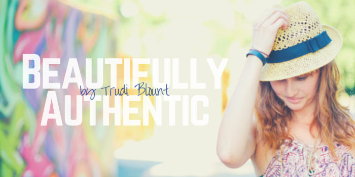 Beautifully Authentic by Trudi Blount